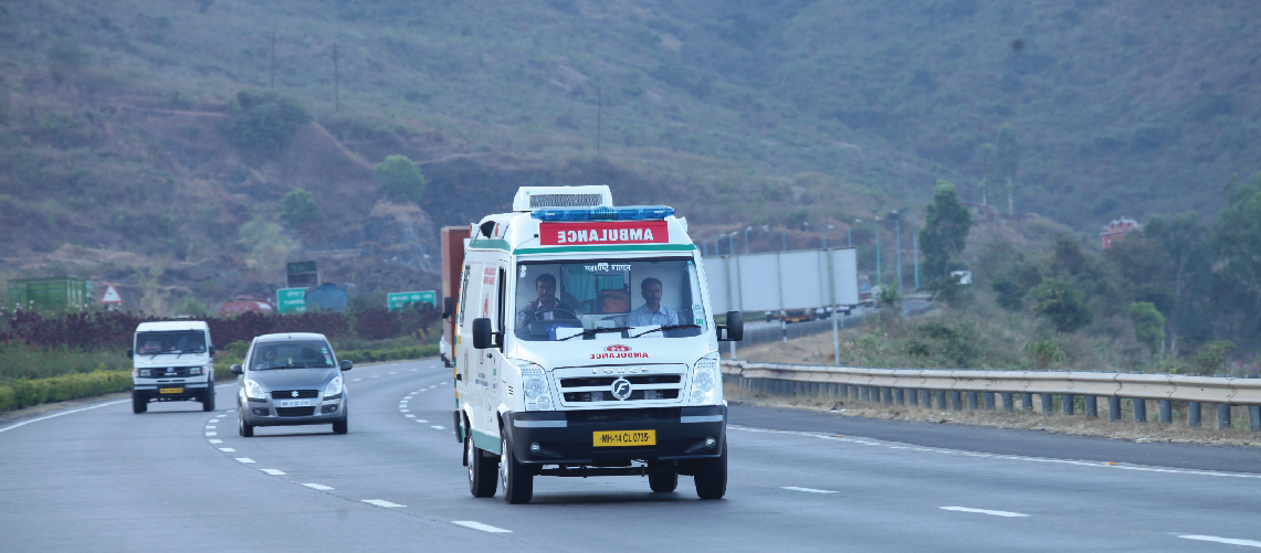 medical transportation in monsoon