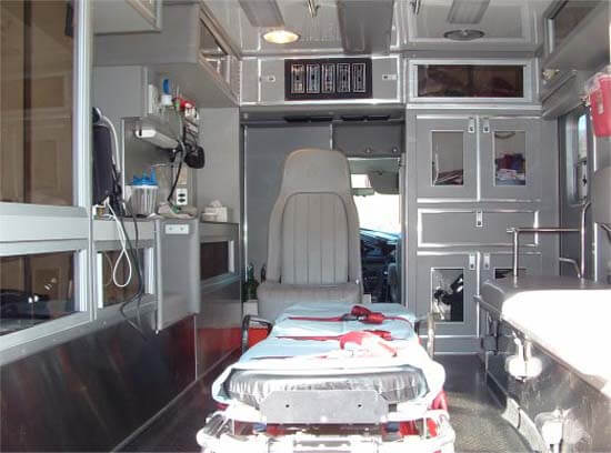 Advanced Cardiac Life Support Ambulance